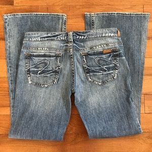 Silver Jeans Tuesday Flare 31x33